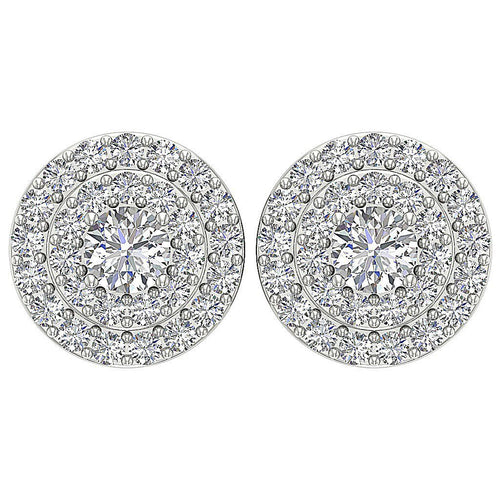Designer Natural Diamond arring-DE166