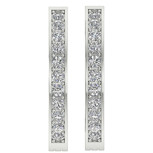 Natural Diamond Designer Earring-DE38