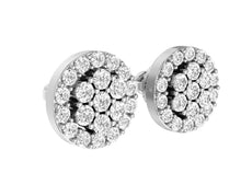 Load image into Gallery viewer, White Gold Earring-E-433