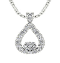 Load image into Gallery viewer, Fashion Pendants 14k/18k White Yellow Rose Gold I1 G 0.50 Ct Natural Diamond