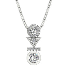 Load image into Gallery viewer, Designer Natural Diamond Pendants-DP403