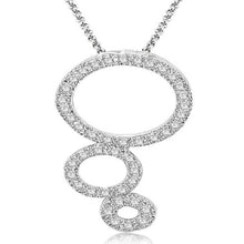 Load image into Gallery viewer, Circle Of Love Pendants Natural Diamond 14k/18k Solid Gold SI1 G 0.85Ct