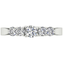 Load image into Gallery viewer, Designer Diamond White Gold Ring-DFR40