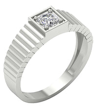 Load image into Gallery viewer, Diamond White Gold Ring-MR-78