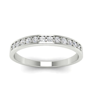 White Gold Diamonds Ring-WR-2A
