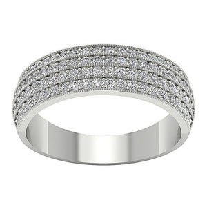 Top View Designer Wedding Ring-DWR40
