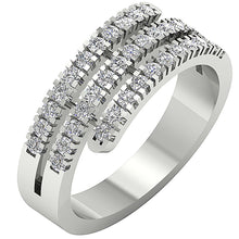 Load image into Gallery viewer, Vintgae Right Hand Ring White Gold-RHR-45-2