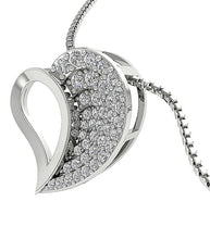 Load image into Gallery viewer, Designer Diamond White Gold Pendants-DP254