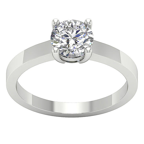 Direct Factory Prices Solitaire Engagement 14k Gold Ring-SR 57A-1.00-1