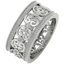 Load image into Gallery viewer, Designer Round Diamond Ring-DETR258