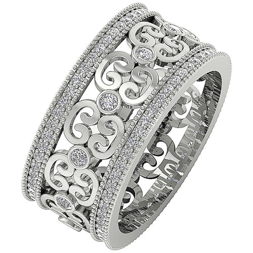 Designer Round Diamond Ring-DETR258