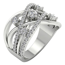 Load image into Gallery viewer, Designer Right Hnd Ring 14k White Gold-DRHR5-2