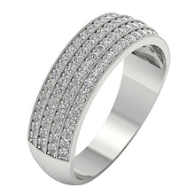 Load image into Gallery viewer, Designer Pave Setting Ring-DWR40