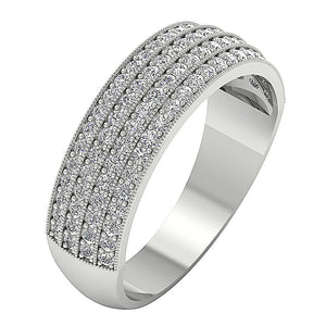 Designer Pave Setting Ring-DWR40