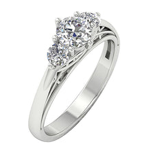 Load image into Gallery viewer, WhiteGoldWeddingRing-TR-161