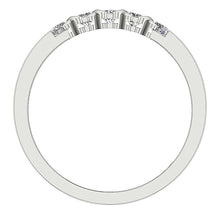 Load image into Gallery viewer, Diamond White Gold Ring Front View-DFR29