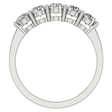 Load image into Gallery viewer, Front View Diamond White Gold Ring-FR-67