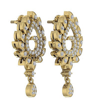 Load image into Gallery viewer, Genuine Diamond Earring Set 14k Gold