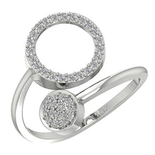 Load image into Gallery viewer, WhiteGold14KEngagementDiamondRing-WR-541