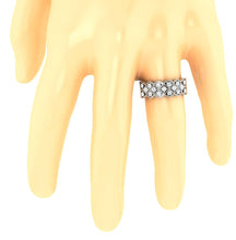 Load image into Gallery viewer, HandOnFingerGenuineDiamondRing-WR-482