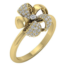 Load image into Gallery viewer, Wedding14KDiamondRing-DWR319