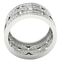 Load image into Gallery viewer, 14k White Gold Genuine Diamond Ring Set