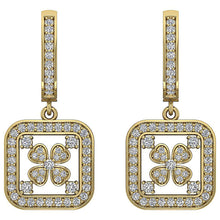 Load image into Gallery viewer, 14k Yellow  Gold Earring Set Round Diamond