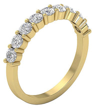 Load image into Gallery viewer, WeddingNaturalDiamondBand-DWR366