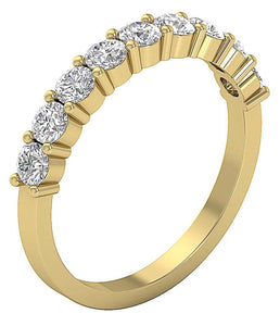 NaturalDiamondEngagement Ring Band-DWR366