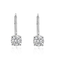Load image into Gallery viewer, Solitaire Stud Earrings-DST88