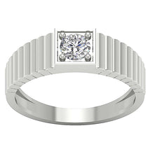 Load image into Gallery viewer, 14k White Gold Ring-MR-78