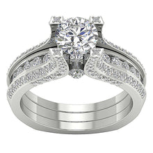 Load image into Gallery viewer, Round Diamond Wedding Band Low Price-DCR109