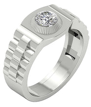 Load image into Gallery viewer, Round Diamonds White Gold Ring-MR-55