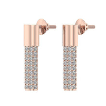 Load image into Gallery viewer, Designer Natural Diamonds Earrings-DE201