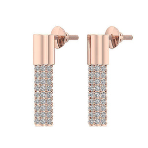 Designer Natural Diamonds Earrings-DE201
