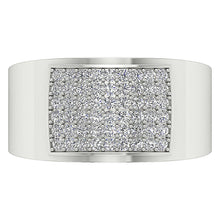 Load image into Gallery viewer, White Gold Ring Pave Setting-MR-19
