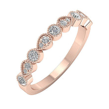 Load image into Gallery viewer, RoseGoldNaturalDiamondRing-WR-500