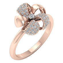 Load image into Gallery viewer, RoseGold14KEngagemntRing-DWR319
