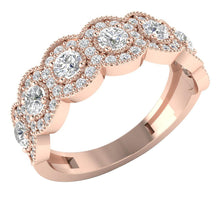 Load image into Gallery viewer, RoseGoldFashionRing-WR-485