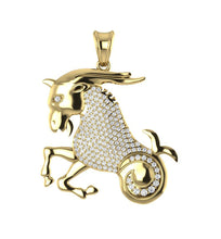 Load image into Gallery viewer, 14k Yellow Gold Designer Unique Pendant