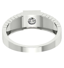Load image into Gallery viewer, Round Diamond White Gold Ring-MR-78