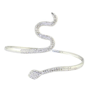 Lenght 2.75 Inch Natural Diamonds Bangles-BN-33