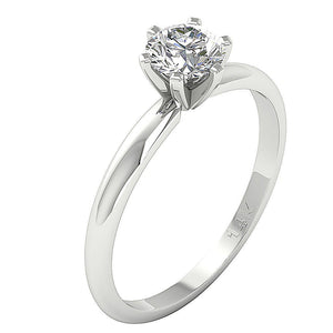 Genuine Diamond Ring Side View Gifts-SR-23-1