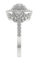 Load image into Gallery viewer, Side View Designer Solitaire Engagement Ring-SR-927-12
