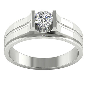 Width 6.70MM Solitaire Ring-DMR4