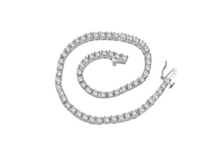 VVS1/VS1/SI1/I1 Tennis Bracelet Natural Diamonds G 4.50Ct 14k Solid Gold Prong Set 7.00Inch