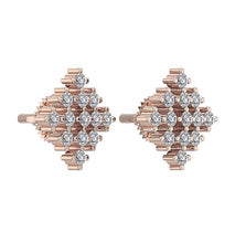 Load image into Gallery viewer, Natural Diamond Earring Set 14k Gold