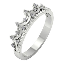 Load image into Gallery viewer, Designer Wedding Ring 14k White Gold