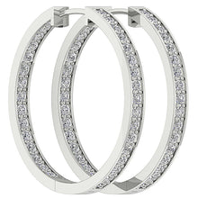 Load image into Gallery viewer, Inside Outside Hoop Earring Set 14k Gold