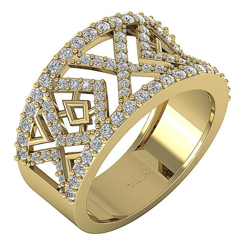 AntiqueYellowGoldDiamondRing-WR-548